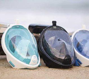 Full-face-snorkel