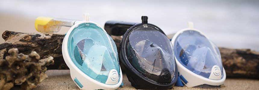 รีวิวหน้ากากดำน้ำ Full face snorkel